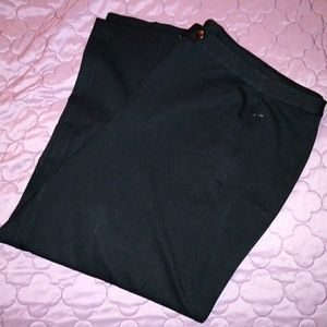 5 4 25 💜🌕 Talbots Career Pants Black Petite Plus